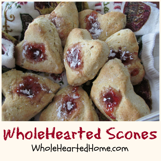 WholeHearted Scones {WholeHearted Home}