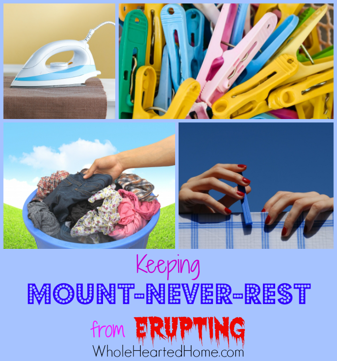 Keeping Mount-Never-Rest from Erupting {WholeHearted Home}