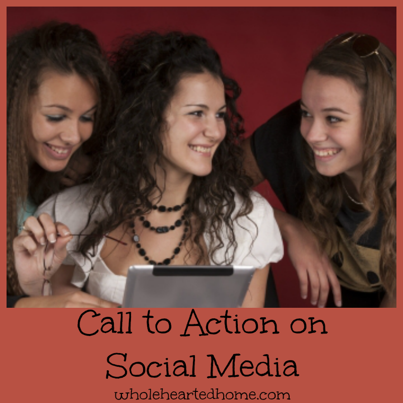 Call to Action on Social Media