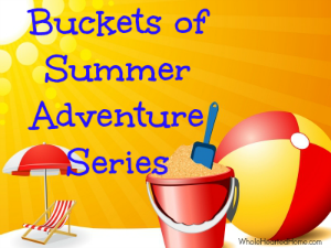 Buckets of Summer Adventure Series {WholeHearted Home}