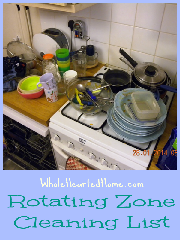 Rotating Zone Cleaning List