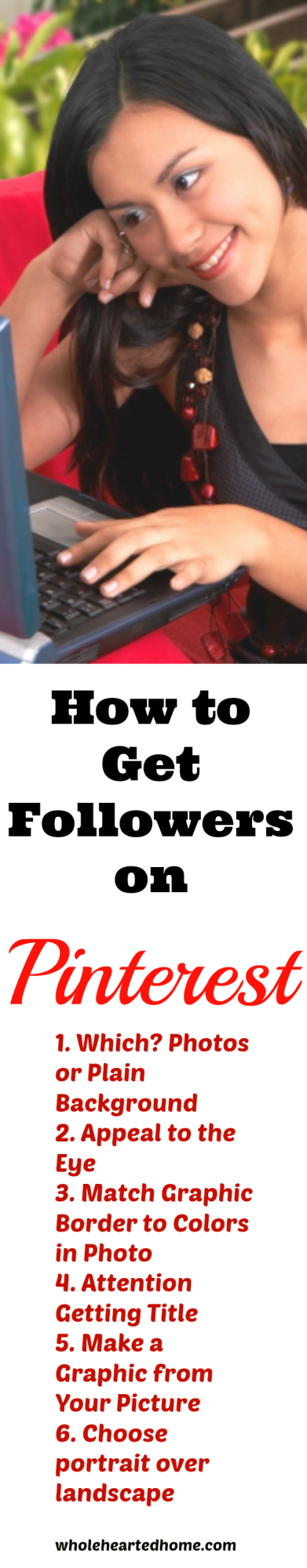 How to Get Followers on Pinterest {WholeHearted Home}