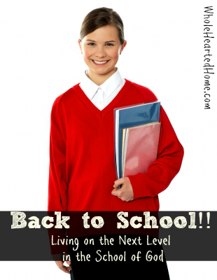 Back to School!! {WholeHearted Home}