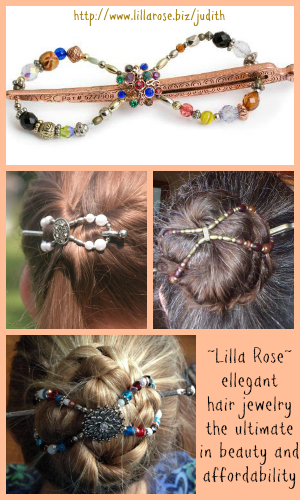 Lilla Rose Hair Jewelry