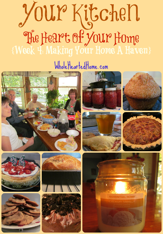 Your Kitchen The Heart Of Your Home {Week 4}