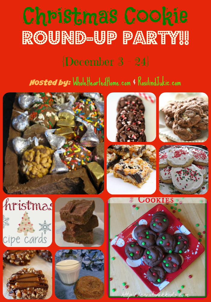 Christmas Cookie Round-Up Party!!