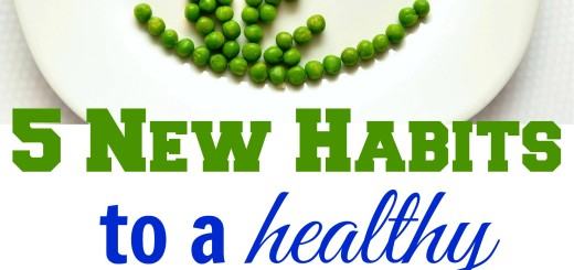 5 New Habits to a Healthy New Year