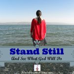 Stand Still And See What God Will Do {Exodus 14}