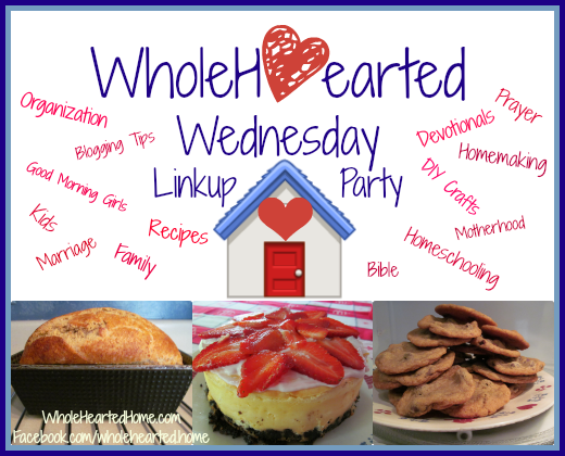 WholeHearted Wednesday Linkup Banner 2