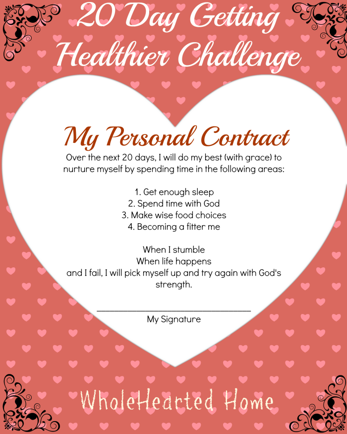 My Personal Contract